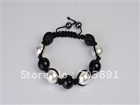 Fashion Beautiful crystal disco ball beads bracelet SH105