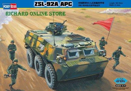 HobbybossModel, PLA ZSL-92A APC,China army armored vehicle 1/35,Static kit,armored vehicle model(China (Mainland))