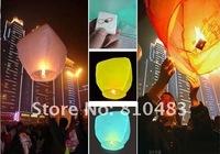 Free shipping 20pcs/lot HIGH QUALITY !!! Flame Retardant Paper Sky /Flying/Wish/ KongMing Lantern