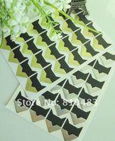 Free shipping Wholesale 100sheets of Photo Corner Sticker, DIY photo album decoration 24pcs/sheets