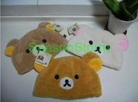 Min Order $20 (mixed order) Retail Plush Cartoon Little Bear Hat / Animal Warm Cap 3 Colors (SL-40)