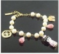Free sHipping!    Japanese Style Kimono Lady Doll  Shoes Pearl Bracelet