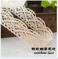 1.5cm  Cotton Lace Accessories underwear Lace Decorative Lace DIY Lace HomeTextile Trim  wholsesale FREE SHIPPING