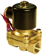 "Free Shipping 5PCS High Quality 1/2"" Water Solenoid Valve NC Brass Alloy Electric Valve AC220V(China (Mainland))"