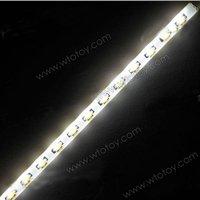 Car Motorcycle 3010 LED Strobe Flash Strip Flexible Light White 11748