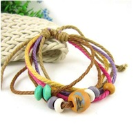 Charms Bracelet Jewelry Supplier Designer Wrist Strap Beads Charms Leather Bracelets