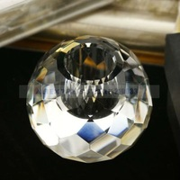 Glittering Crystal Ball Candle Holder in Gift Box for Wedding Party Favors Gifts Supplies Free Shipping Hot Sale