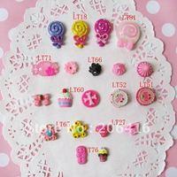 set doughnut/ice/cake/candy  FlatBack Resins Bow Scrapbooking/Phone Embellishment 150pcs