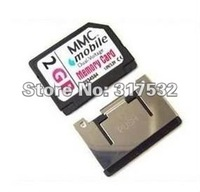 Free shipping RS-MMC Card 512MB,1GB,2GB for Camer, DV, PDA and Nokia N70 N72 7610 3230