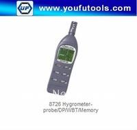 AZ-8726 digital Hygrometer-probe/Humidity Temp. Meter   /DP/WBT/Memory  Free Shipping