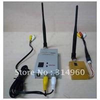 1.2G Hz 8CH Wireless Audio Video CCTV Transmitter Receiver 1.5W 1500mW Free Shipping