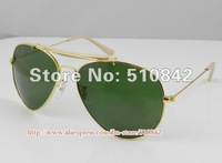 Best selling fashion Men's/Women's sunglasses,designer Sun glasses, Black blue frame gray lens.1 pcs free shipping R140