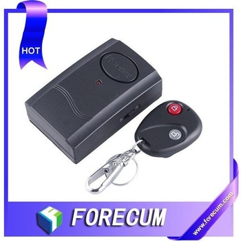 with retail package Wireless Remote Control Vibration Alarm/Electronic personal reminder alarm & Anti-Lost Alarm 2pcs/lot