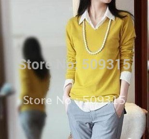 2012 Spring and Autumn Bats sleeve sweat,Fashion cardigan, women's sweater,knit cardigan,women pullover Free shipping