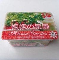Creative Gift Plant can pot flower Office Mini Fantastic DIY Home Decoration mini Orchard Cherry Radish