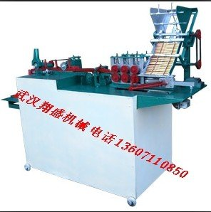 Toothpick machine for bamboo wood processing equipment