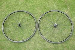 Wholesale cheap! 700C 20mm Clincher Wheelset Full Carbon Fiber Bicycle 3K/UD Bright/ Matt