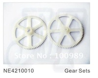 F01131-3 NE4210010 4CH Nine Eagles Solo 210A Rc Helicopter Heli spare parts Gear Sets+ Free shipping