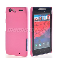 HARD RUBBERIZED RUBBER CASE COVER FOR MOTOROLA DROID RAZR XT910 XT912 FREE SHIPPING