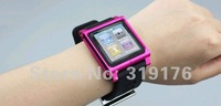 Brand new Luna Tik watch kits band nano6,  watch bands for apple ipod nano6, nano6 case, free shipping