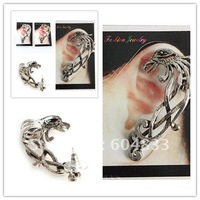 Gothic punk rock metal ear cuffs wrapped earrings in Phoenix