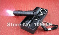 New Mini aluminum 3W LED Torch Handy Flashlight Waterproof for Sporting camping(Contains black packaging box)