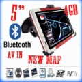 2012 New 5 inch navigation gps System Bluetooth AV-IN WinCE FM Car Navigation GPS,Atlas V
