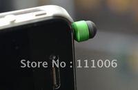 500pcs/lot Mini Stylus Pen + Earphone Headphone Dust plug Cap for Capacitive Screen device for iphone 4 4s IF-0116