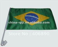 National flag printed polyester fan car flag