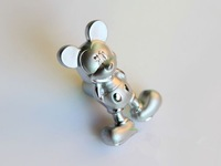 10 pcs Sand chrome modern style cartoon of Mickey Mouse aluminum handle simple handle. free shipping