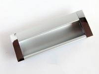 10 pcs Dark handle color space aluminum aluminum handle Jane Europe wardrobe door sliding door handle free shipping
