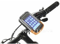 Whole sale price 2012 Cycling Bicycle bike Handlebar Bag for IPhone HTC x 2pcs