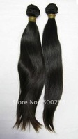 Natural Straight Natural Color Peruvian Virgin Hair Extension