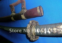 Free shipping handmde damascus blade  Japanese TAI sword on retail