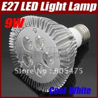 High Power 9*1W 9W Cool White PAR LED Spotlight Lamp Bulb E27 85-265V Light Energy-saving 2961