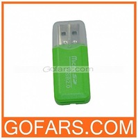 Mini USB Card Reader T-flash TF Card Reader,100pcs a lot,free shipping,high quality #011