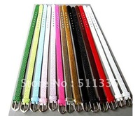 50 strips 8mm wide / 21cm length PU Leather wistband fit for 8mm diy slide charms