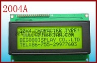 Char. 20x1 line character LCD module 2001A IC;SPLC780D LED DISPLAY/146.0x33.0x10.0 Field:123.0x13.0 Dot size:4.84x9.22