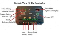 Wholesale 10pcs/lot ,,#9211 10A PWM Solar Controller Regulator for Solar system 12V 24V Auto Switch