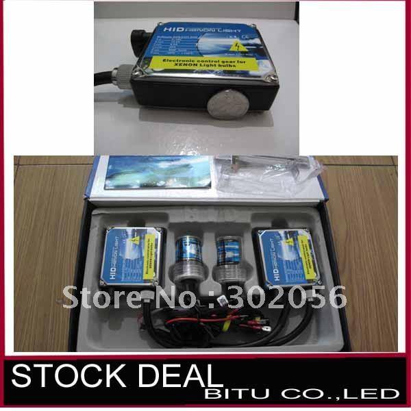 10pcs/lot free shipping HID xenon lamp 35w single beam SILM kit 35W HID H1 H3 H4 H7 4300k 6000k 8000k 10000k 12000k TL031(China (Mainland))