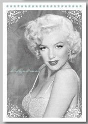 Free shipping/ Black and White Marilyn Monroe postcards set / Vintage Greeting Cards/ gift cards/ Occident Stationery wholesale(China (Mainland))