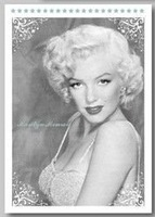 Free shipping/ Black and White Marilyn Monroe postcards set / Vintage Greeting Cards/ gift cards/ Occident Stationery wholesale