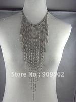 Korea fashion cute Necklace Chain Jewelry sweater chain stiffness