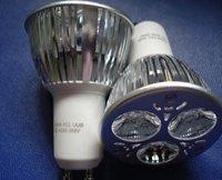 Super lux Cree chip LED GU10 spotlight,85v-265v,3w,3years warranty