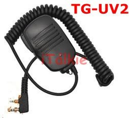 Free Shipping Quansheng TG-UV2 Two Way Radio Dualband UHF AND VHF LCD Walkie Talkie Transceiver for security,hotel,ham