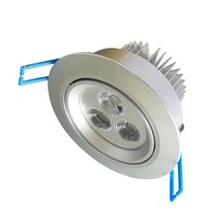 3*1W Led Down Light Pure White Led Ceiling Light Aluminum AC100-240V(LG145625)