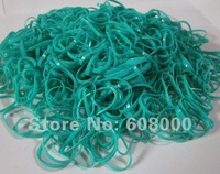 free shipping 5000pcs/lot dark green Braiding Poly Elastic Rubber Bands for Dog Bow,cake package bands etc