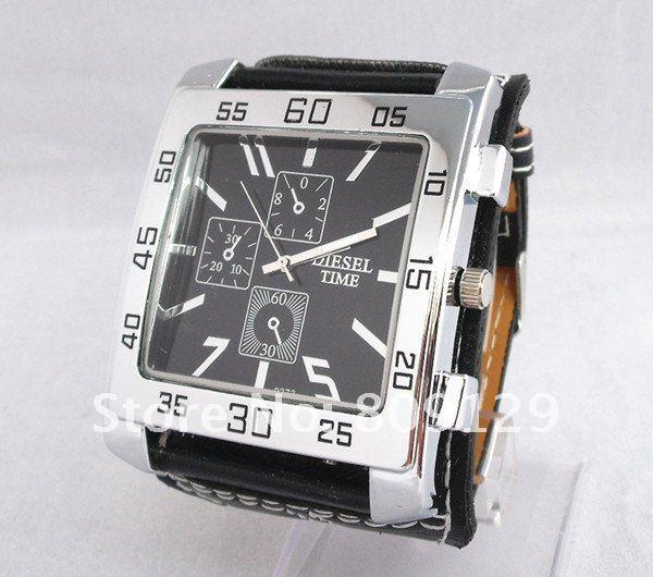 20Pcs/Lot Fashion Diesel Time 9273 Strap Unisex Women's Men's Watch (4 kinds ...