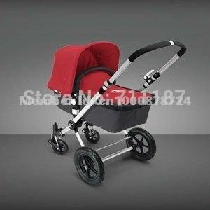 Wholesale good quality- dream designed red BUGABOO brand stroller,baby pram