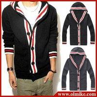 Мужская толстовка Hot Fashion Men's hoody jacket coat sweatshirt Slim fit Top casual Hoodeies Clothes M, L, XL, XXL 2 Colors, C002